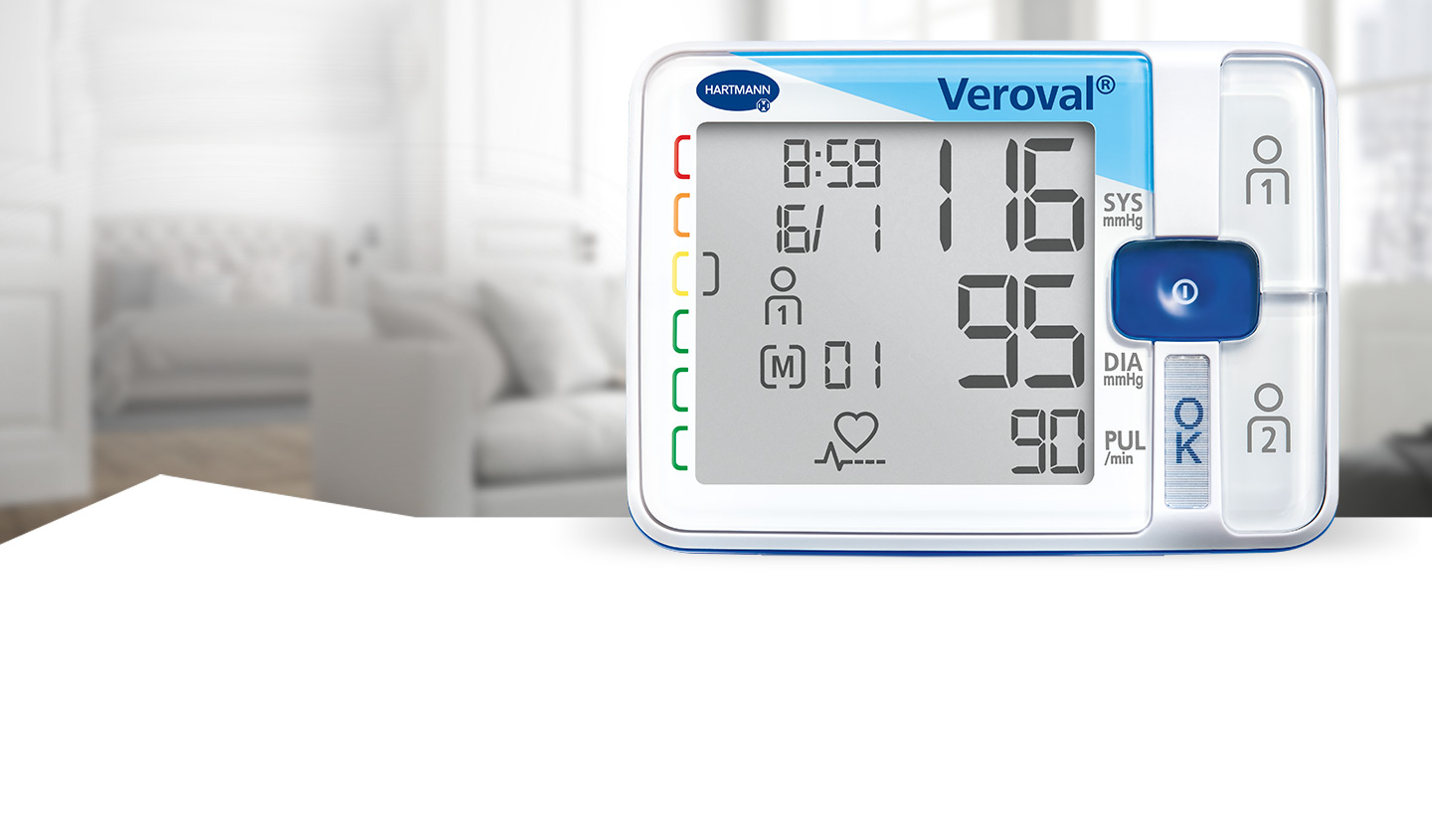 Veroval® blood pressure monitor for wrist